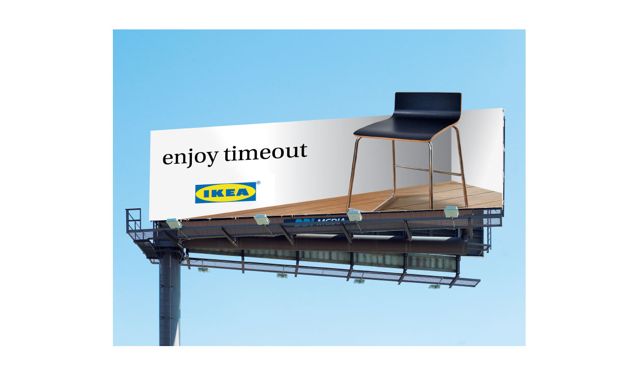 ikea billboard design
